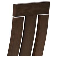 Jedálenská stolička MILENA orech/biela 5