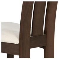Jedálenská stolička MILENA orech/biela 6