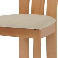Jedálenská stolička MILENA buk/krémová 3