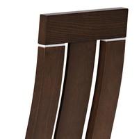 Jídelní židle MILENA ořech/magnolia 3