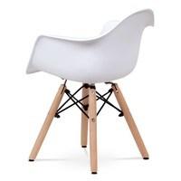 Dětská židle MINNIE bílá 4