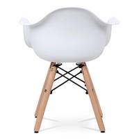 Dětská židle MINNIE bílá 5
