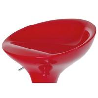 Barová židle NEVADA 1 červená 3
