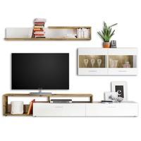 Obývacia stena NEW VISION 3 dub artisan/biela 1