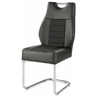 Jedálenská stolička NICKY čierna 1