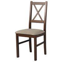 Jídelní židle NILA 10 hnědá 1
