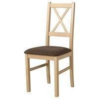 Jedálenská stolička NILA 10 hnedá/dub sonoma 1