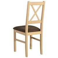 Jedálenská stolička NILA 10 hnedá/dub sonoma 2