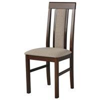 Jídelní židle NILA 2 světle hnědá/hnědá 1