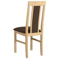Jedálenská stolička NILA 2 hnedá/dub sonoma 2