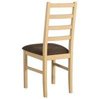 Jedálenská stolička NILA 8 hnedá/sonoma 2