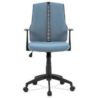 Kancelárska stolička OLIVER modrá 2