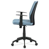 Kancelárska stolička OLIVER modrá 3