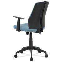 Kancelárska stolička OLIVER modrá 4