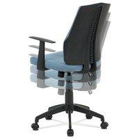 Kancelářská židle OLIVER modrá 13