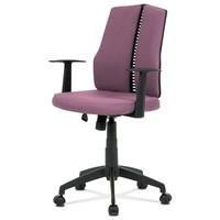 Kancelářská židle OLIVER fialová 1