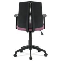 Kancelářská židle OLIVER fialová 5