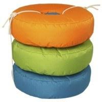 Sedací vak OOO oranžová/zelená/modrá 1
