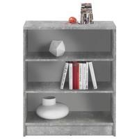 Regál/knihovna OPTIMUS 35-002 beton/bílá 1