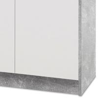 Komoda OPTIMUS 38-006 bílá/beton 4