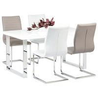 Jídelní stůl PABLO 1 bílá vysoký lesk 3