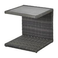 Přístavný stolek PADUA šedá 1