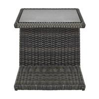 Přístavný stolek PADUA šedá 2