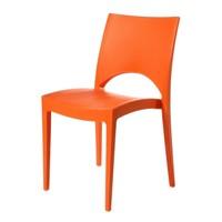 Jídelní židle PARIS oranžová 1
