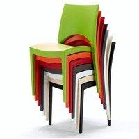 Jídelní židle PARIS oranžová 2