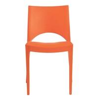 Jídelní židle PARIS oranžová 3
