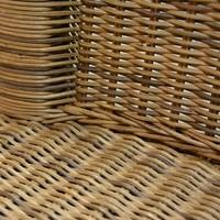 Jídelní židle PERTH DUST přírodní/ratan 2