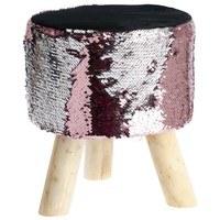 Flitrová stolička PJ192001 ružová 1
