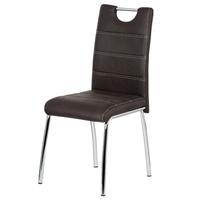 Jedálenská stolička PODA hnedá 1