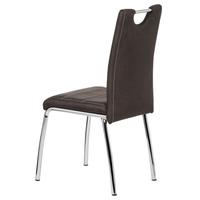 Jedálenská stolička PODA hnedá 4
