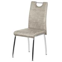Jedálenská stolička PODA béžová 1