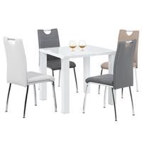 Jídelní židle POLA béžová 2