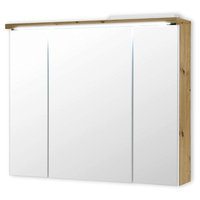 Zrcadlová skříňka POOL dub artisan, 80 cm 1