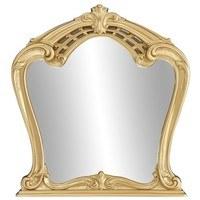 Zrkadlo  QUEEN zlatá 1