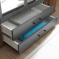 Šatní skříň RAMON old style, beton 5