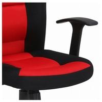 Otočná židle REDDY černá/červená 4