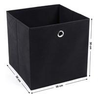 Úložný box RFB02 sada 6 ks, černá 3