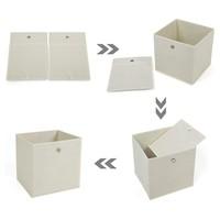 Úložný box RFB02 sada 6 ks, béžová 3