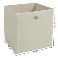 Úložný box RFB02 sada 6 ks, béžová 5