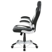 Kancelářská židle ROBERT černá/šedá 3