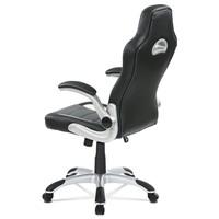 Kancelářská židle ROBERT černá/šedá 4
