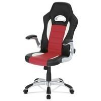 Kancelářská židle ROBERT černá/červená 1
