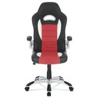 Kancelářská židle ROBERT černá/červená 2