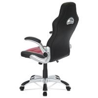Kancelářská židle ROBERT černá/červená 4