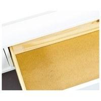 Konferenční stolek ROMANCE 2 bílá/sklo 2