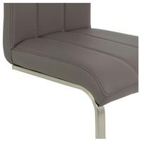 Jedálenská stolička ROSALIE sivá 4